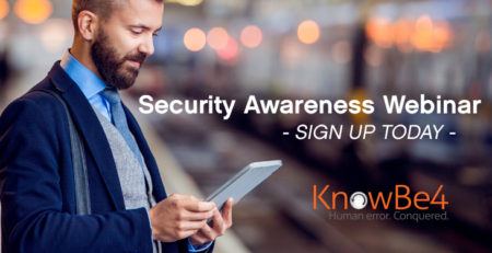 Security awareness training and webinar for your human firewall