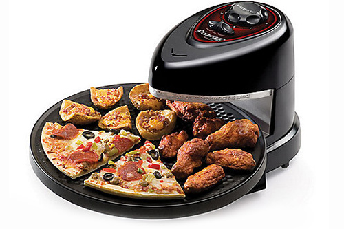 this gadget is a huge timesaver when cooking foods like pizza appetizers quesadillas or garlic bread just plug it in and its instantly heated and ready - Must Have Kitchen Gadgets