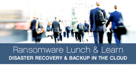 ransomware disaster recovery and backup in the cloud