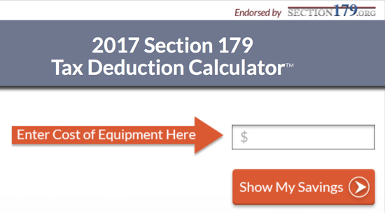 Section 179 technology tax deductions