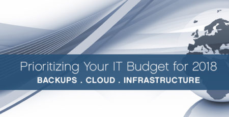 IT budgets, cloud, security, infrastructure