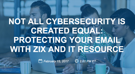 Email Security Webinar Zix