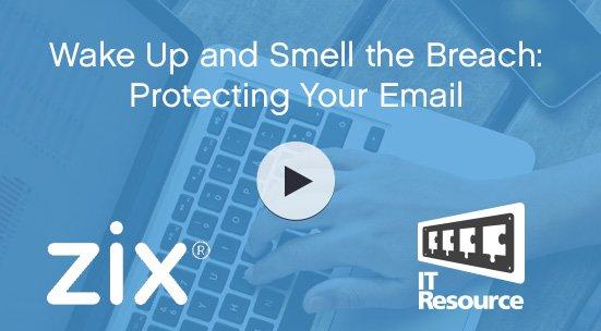 Zix email security webinar