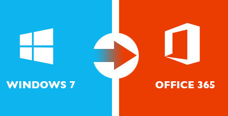 Windows 7 migration to Office 365
