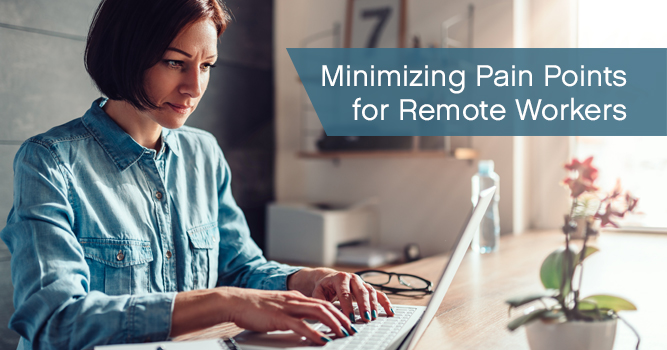 Remote workers and IT issues