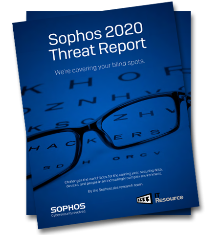 Cybersecurity threat report in 2020