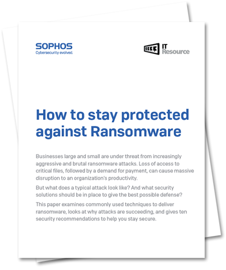 Sophos Protect Against Ransomware